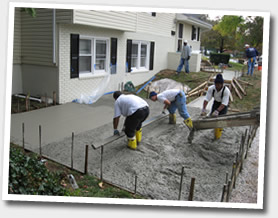 Concrete Driveway - F&M Contracting, Inc.