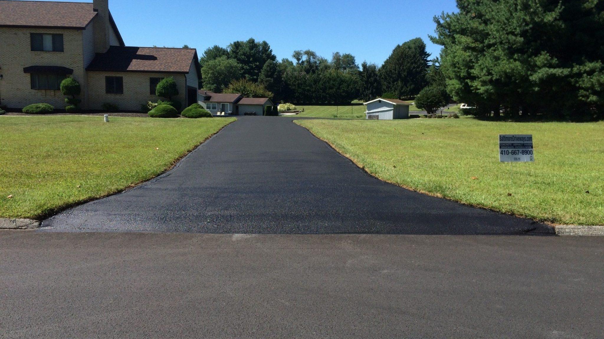 Repave an Asphalt Driveway - F&M Contractors