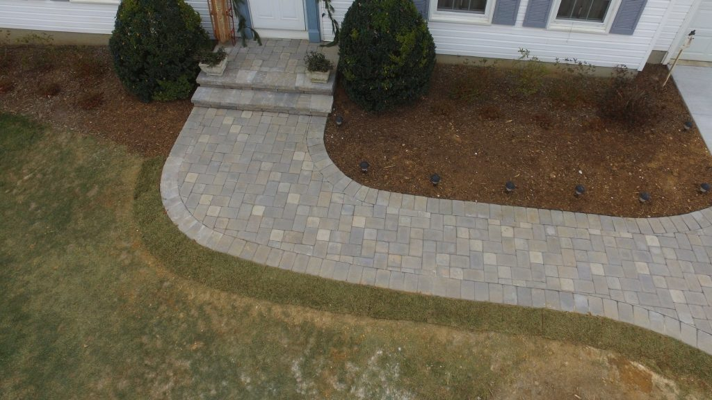 Paver Patios Walkways And Walls F Amp M Contractors Baltimore Maryland