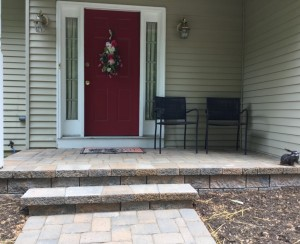 Paver Walkway and Patio