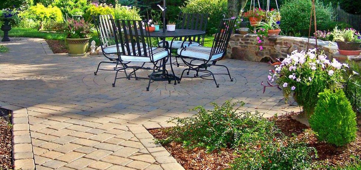 Backyard Contractors upgrade your backyard to an outdoor living space with a new paver