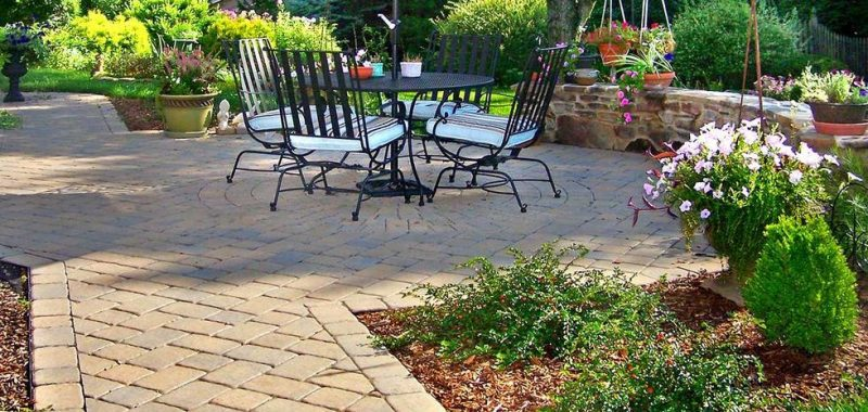 Upgrade Your Backyard To An Outdoor Living Space With A New Paver