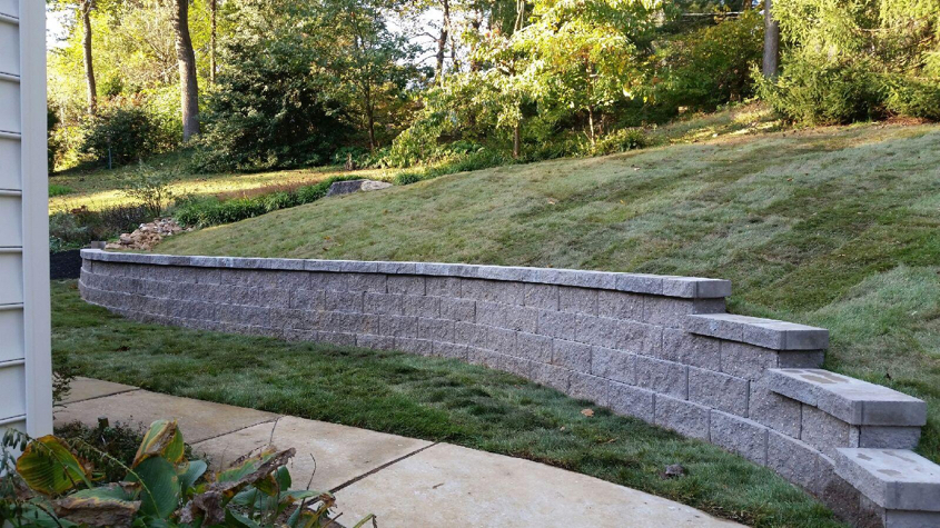 how to build wood retaining wall with steps